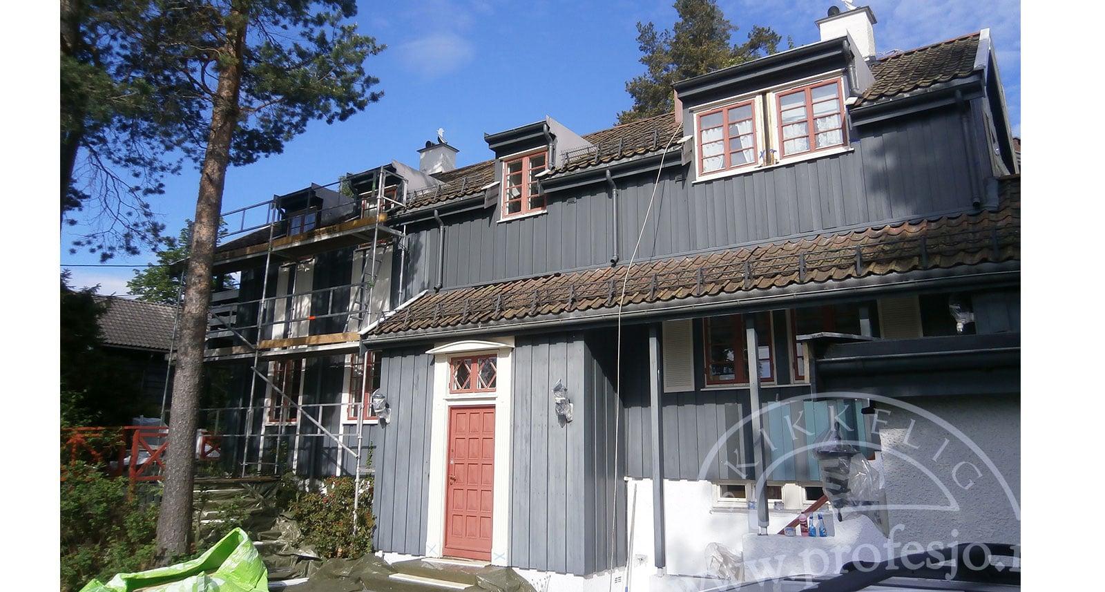 pris måling av hus